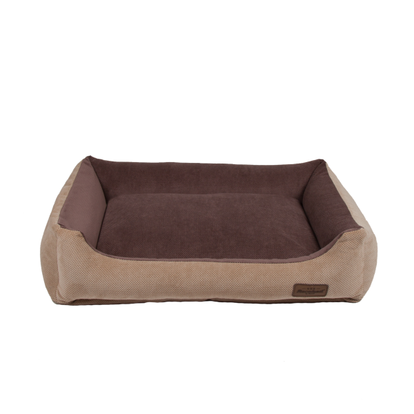 Siberian Sofa double beige&brown